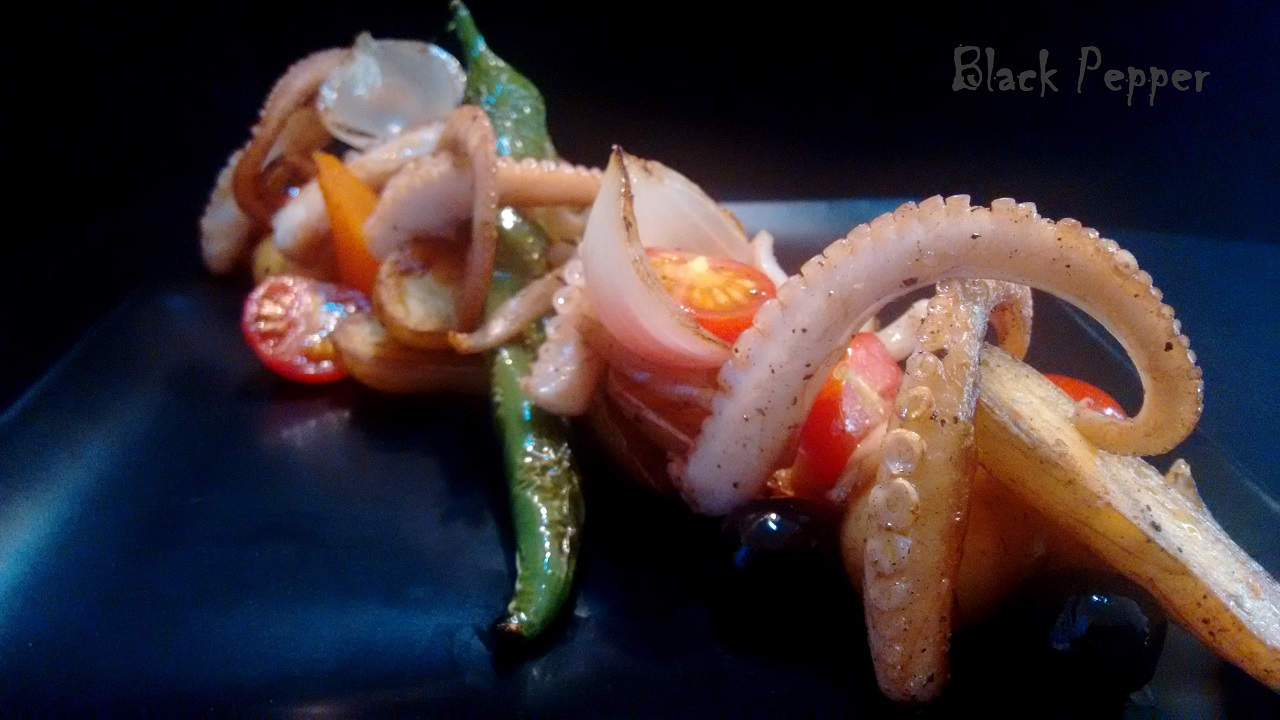 Italian Warm Octopus Salad