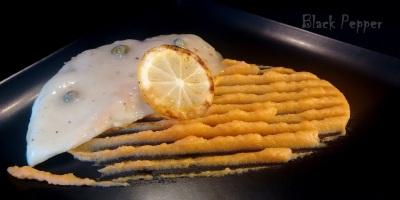Куриная грудка в лимонном соусе