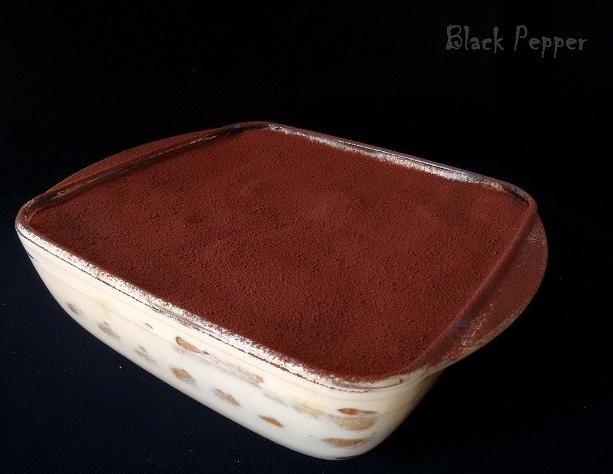 Торт тирамису в форме