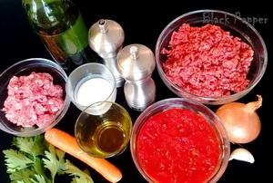 Итальянский соус болоньезе ингредиенты