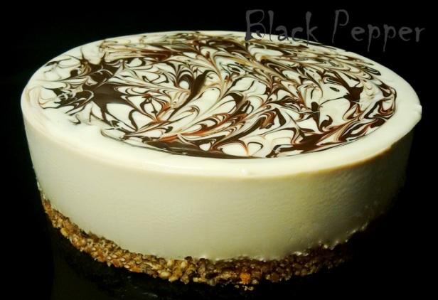 Торт с кофе без выпечки