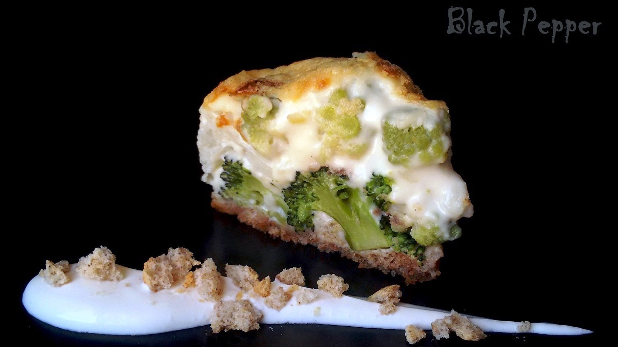 Broccoli and Cauliflower Au Gratin