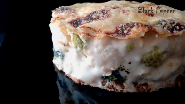 Пирог Гратен с брокколи