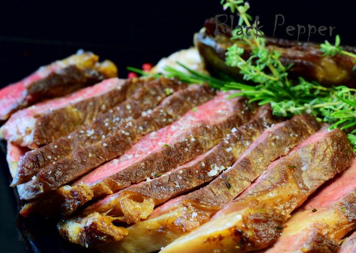 Steak Rib Eye with Herbs Recipe