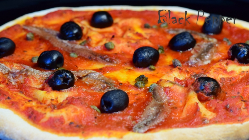 Домашняя пицца маринара