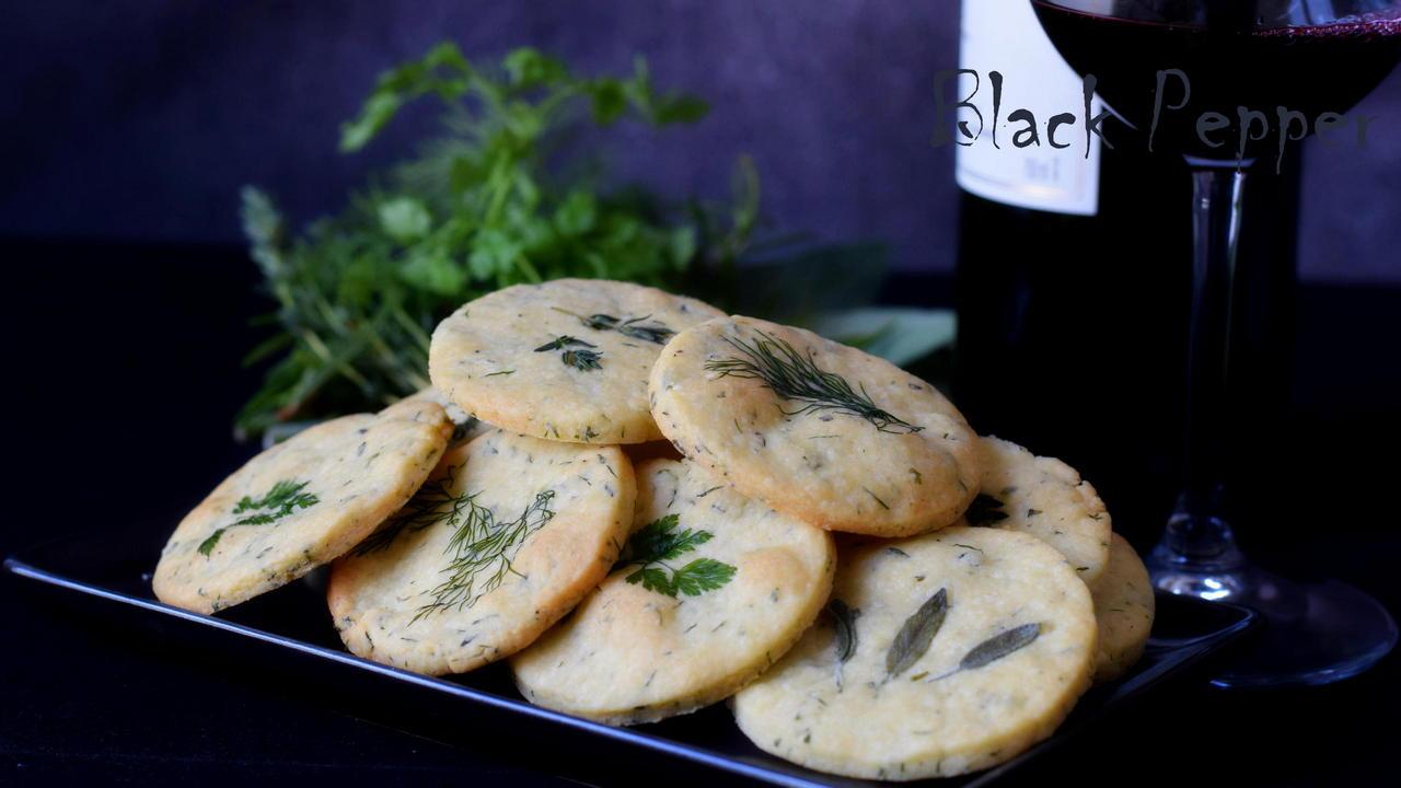 Печенье с сыром к вину