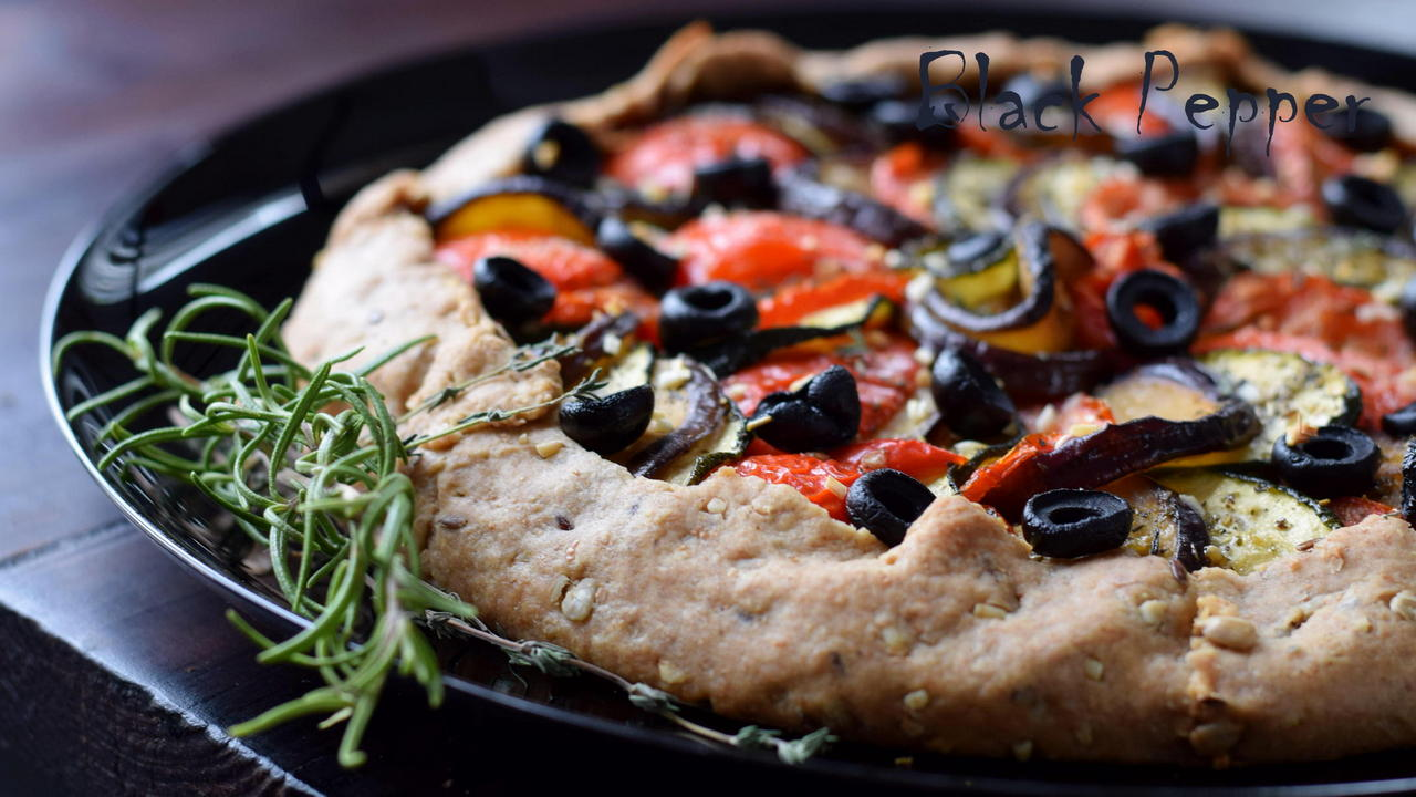 Ratatouille Galette Recipe