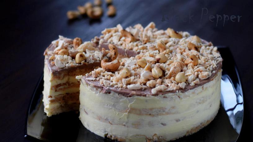 Киевский торт с масляным кремом