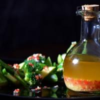 Острый соус с чесноком и имбирем