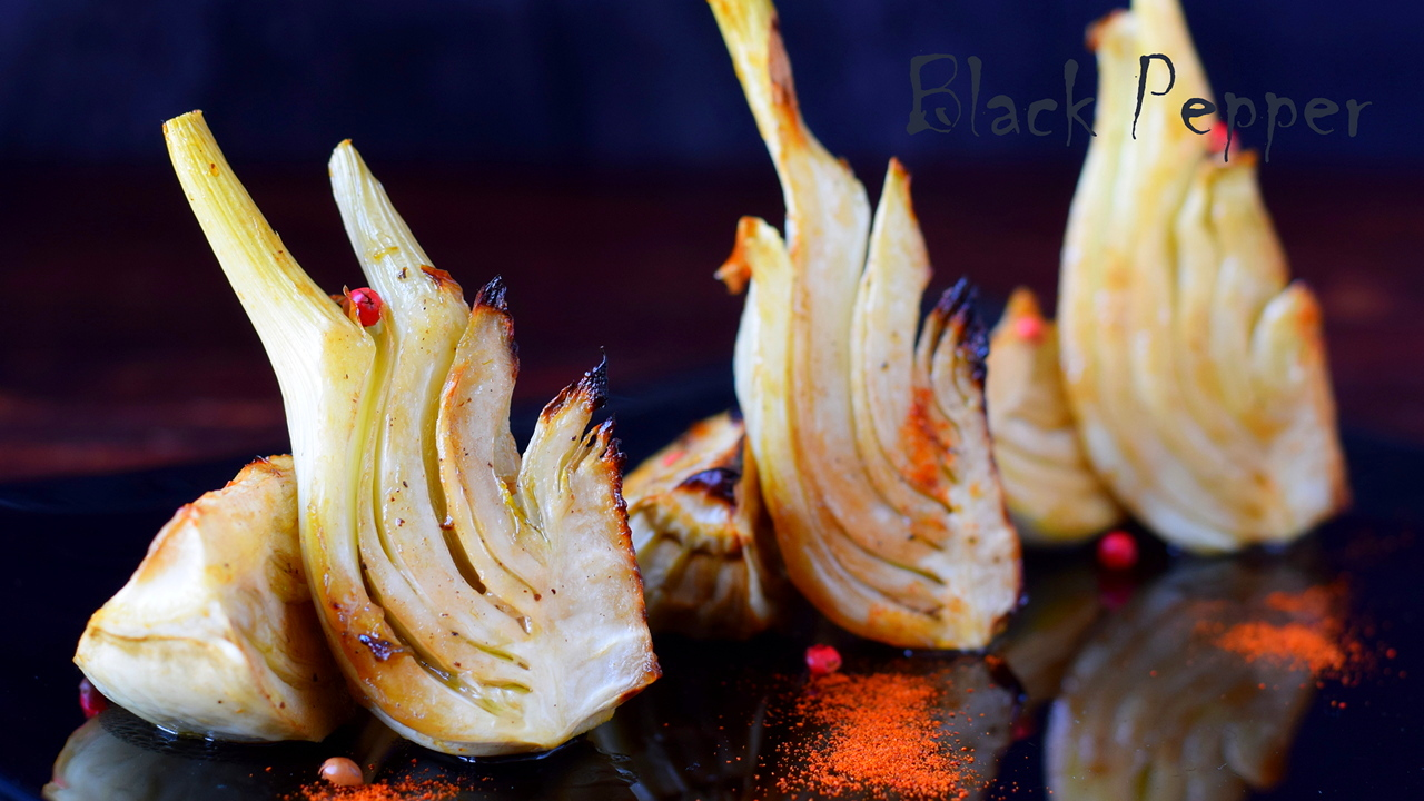 Oven-baked Fennel with Balsamic Vinegar