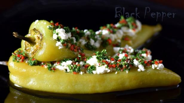 Болгарский перец с сыром фета