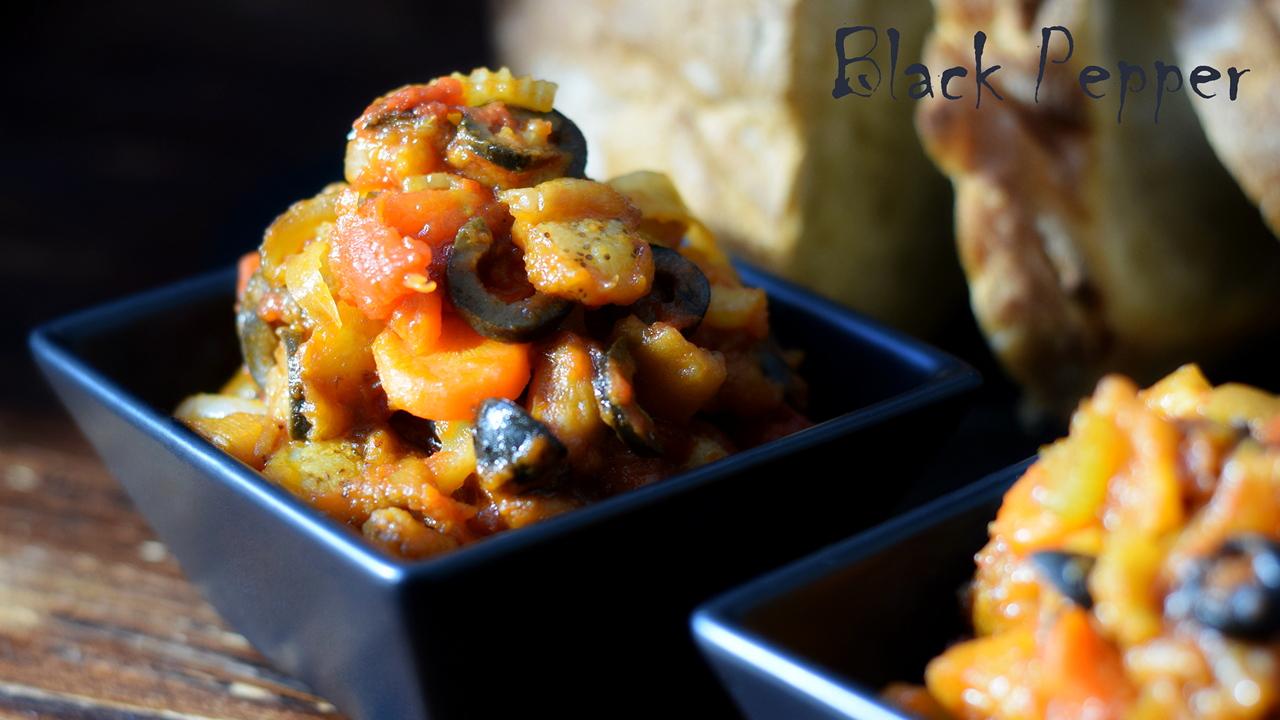 Овощное рагу с баклажанами – сицилийская Капоната